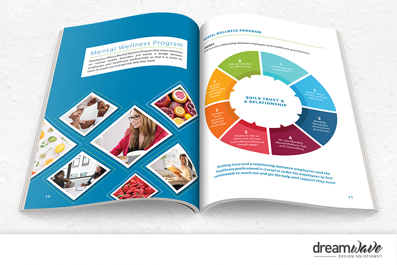 HeadSpace Events – Marketing Materials – Dreamwave Design